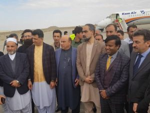 India and Afghanistan open air freight corridor between New